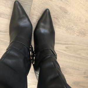 Michael Kors all leather boots